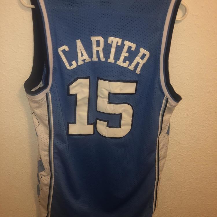 sneakers for cheap 172e0 a2280 Vince Carter UNC Jersey