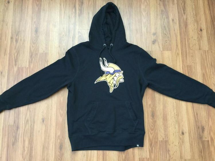 300fab93 Minnesota Vikings NFL Football SUPER AWESOME '47 Brand Size XL PULLOVER  Hoodie! No Trades