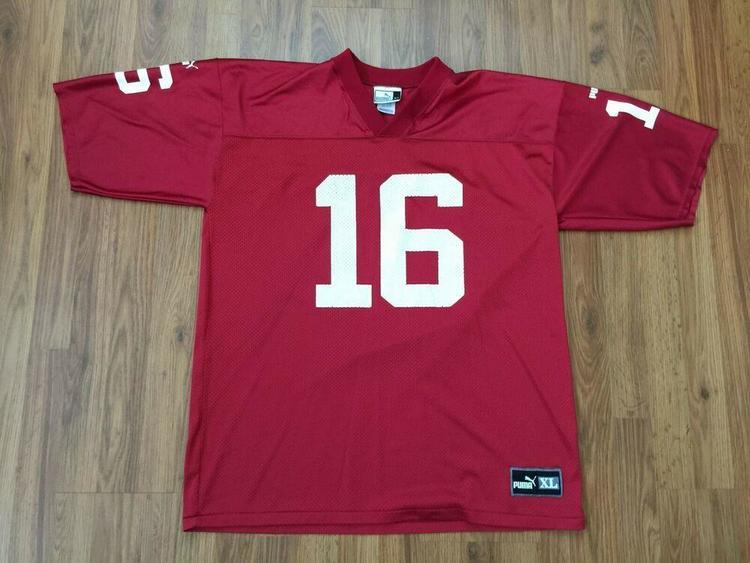 the best attitude 10743 1ae45 Arizona Cardinals Jake Plummer #16 SUPER COOL NFL Size XL Puma Football  Jersey!