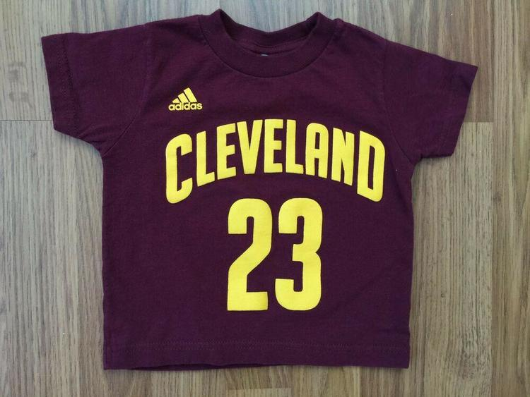 buy online 6f75d 10cdf Cleveland Cavaliers Lebron James #23 SUPER AWESOME Kids Toddler Size 2T T  Shirt!