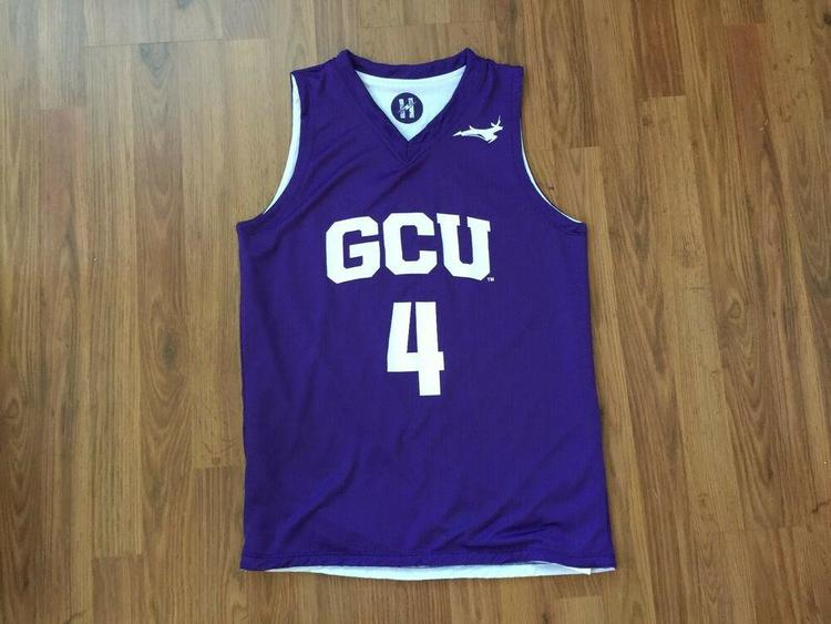 new product b34d6 76a71 GCU LOPES NCAA AWESOME REVERSIBLE Grand Canyon Havocs Size M Basketball  Jersey!