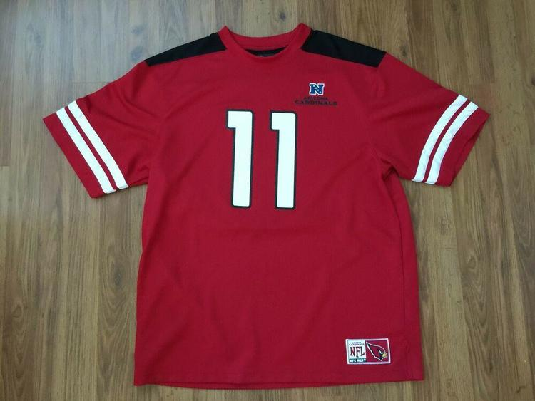 new styles c3c72 db023 Arizona Cardinals Larry Fitzgerald #11 NFL Team Apparel Football Size XL  Jersey!