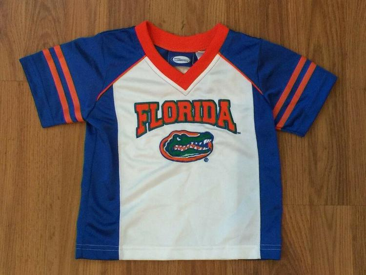 sports shoes f3fbf 0ee6f Florida Gators NCAA SUPER AWESOME Kids Toddler Size 2T Football Youth  Jersey!