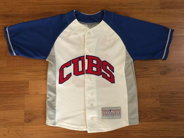 lowest price 56a63 aaef9 Chicago Cubs Aramis Ramirez #16 VINTAGE MLB Boys Small Kids Baseball Jersey!