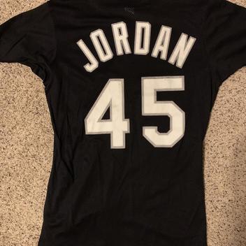 sports shoes d724a b34a2 Retro Jordan White Sox Jersey