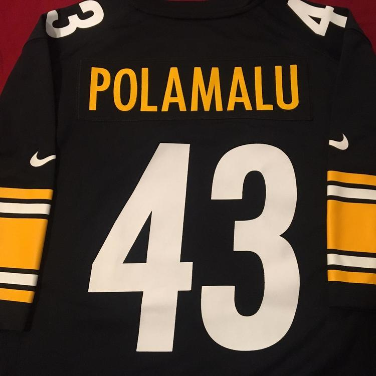 new arrival 477f9 c7453 Troy Polamalu #43 Pittsburgh Steelers Nike NFL Jersey XL - Like New