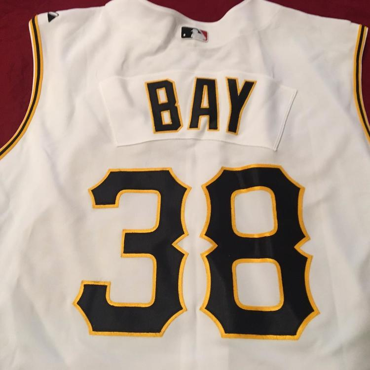 finest selection 2f2b7 7b221 Jason Bay #38 Pittsburgh Pirates Majestic MLB Authentic Baseball Jersey  Size 52 NEW (Canada HOF)