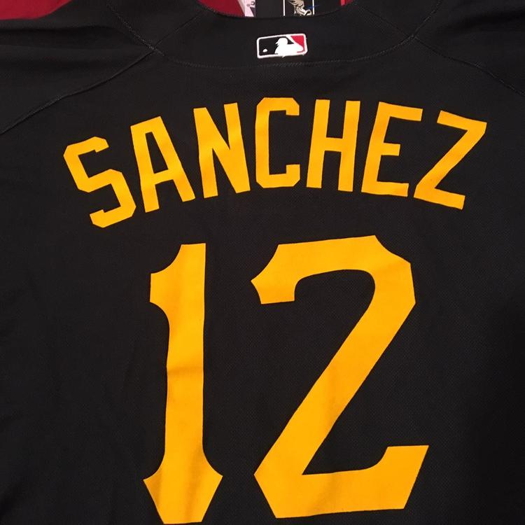 cheap for discount f8dae eda4f Freddy Sanchez #12 Pittsburgh Pirates Authentic Majestic MLB Batting Jersey  Size XL NEW