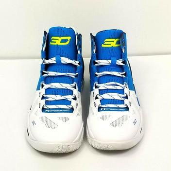 buy popular 2c368 406bb Under Armour Stephen Curry 2 Haight Street Blue Camo 1259007 ...
