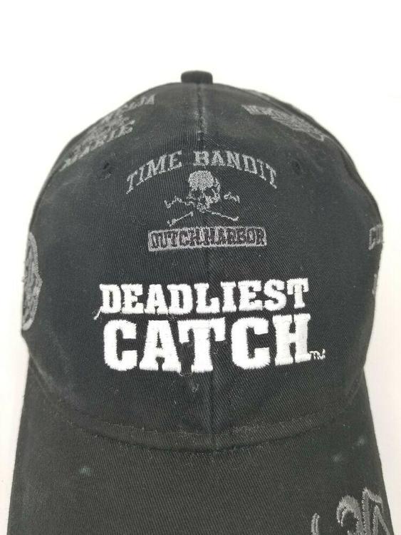 18bfed74869 Deadliest Catch Crab Fishing Hat Sports Dad Cap Fish Boats Men Alaska Black  | Apparel Hats | SidelineSwap