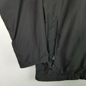 5af9ebecc Patagonia Windbreaker Mens Sz XL Dark Gray Full Zip Jacket Running ...