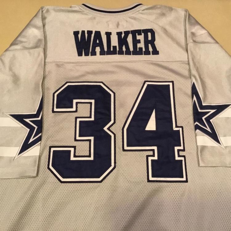 online store 169f9 edb1a Mitchell & Ness 1985 Dallas Cowboys Herschel Walker Throwback Jersey