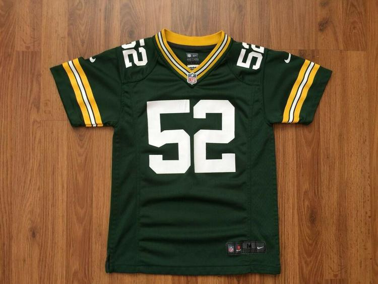 the latest 246a2 395bb Green Bay Packers #52 Clay Matthews SUPER AWESOME Nike Youth M Football  Jersey!