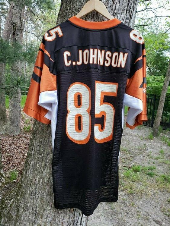 5ce34462 VTG Cincinnati Bengals Chad Johnson Jersey M Reebok 85 Ochocinco