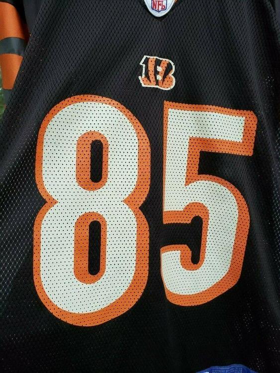 b204680e VTG Cincinnati Bengals Chad Johnson Jersey M Reebok 85 Ochocinco   Football  Apparel   SidelineSwap