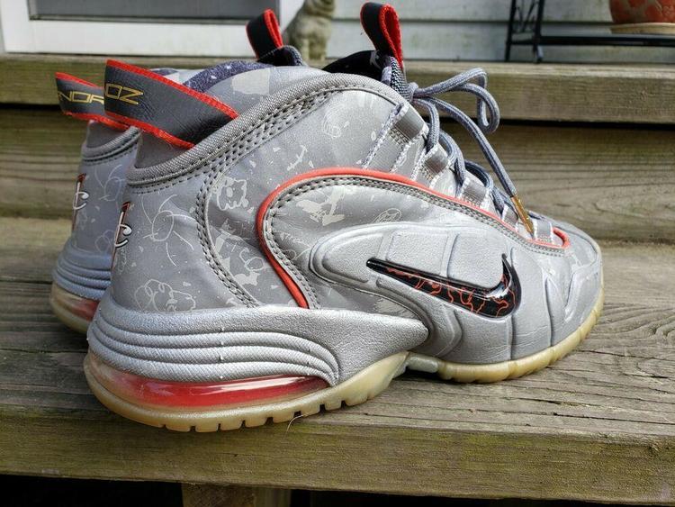 Nike Air Max Penny 1 Doernbecher Sz. 10 DB 728590 001 SilverHyper Crimson | Footwear Turfs, Indoor, Sneakers & Training | SidelineSwap
