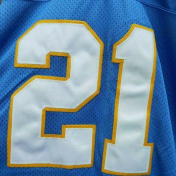 newest ada19 698fa Reebok VTG Ladanian Tomlinson Chargers Authentic Jersey 56 ...