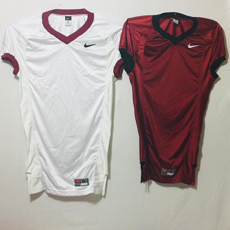 brand new 40401 dc592 Blank Team Issue Nike Football Jersey