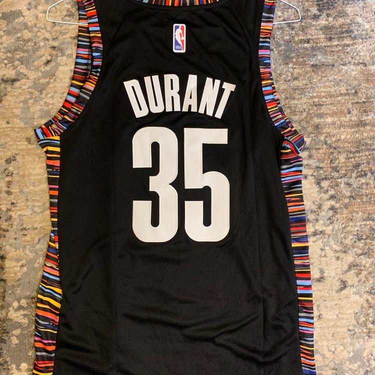 best wholesaler f9432 ae05c Nike KEVIN DURANT #35 Brooklyn Nets City Edition Replica Jersey BRAND NEW  WITH TAGS | Basketball Apparel & Jerseys | SidelineSwap
