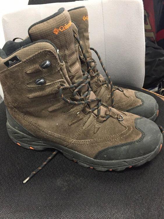 b27d7681274 Columbia Mid Waterproof Hiking Boots, Men's Size 10, Brown