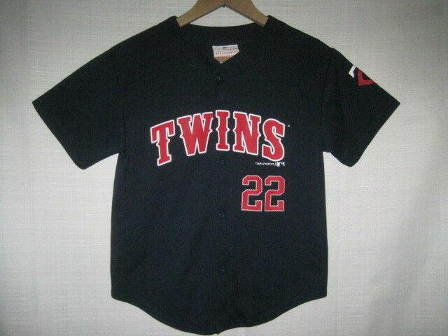 newest 1510d ed9b8 Minnesota Twins Miguel Sano Baseball Jersey kids boys S 6/7 MLB