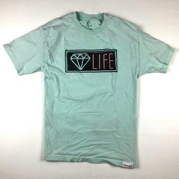 Diamond Supply Co Life Deuces tee short sleeve shirt DS new Size Medium
