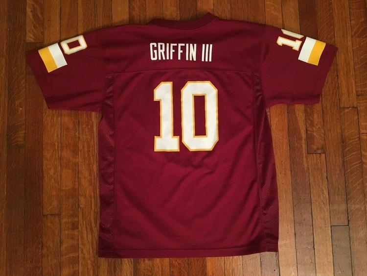 info for 544c2 7bcc6 Washington Redskins Robert Griffin III Jersey #10 NFL Football (Sz Youth XL)