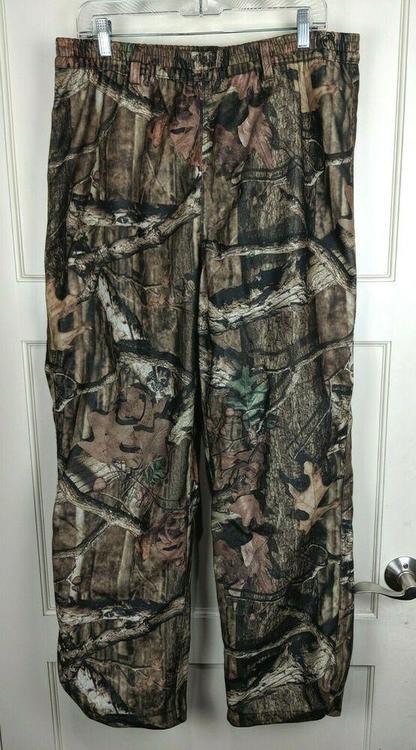 b4ef035c853 Herter's Break-Up Infinity Camo Hunting Pants Mesh Lined Water Resistant  Men's L