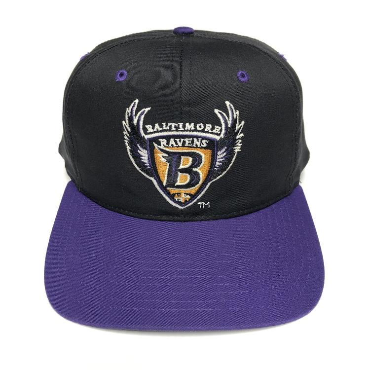 1ee263e7 Vintage Baltimore Ravens Snapback Hat