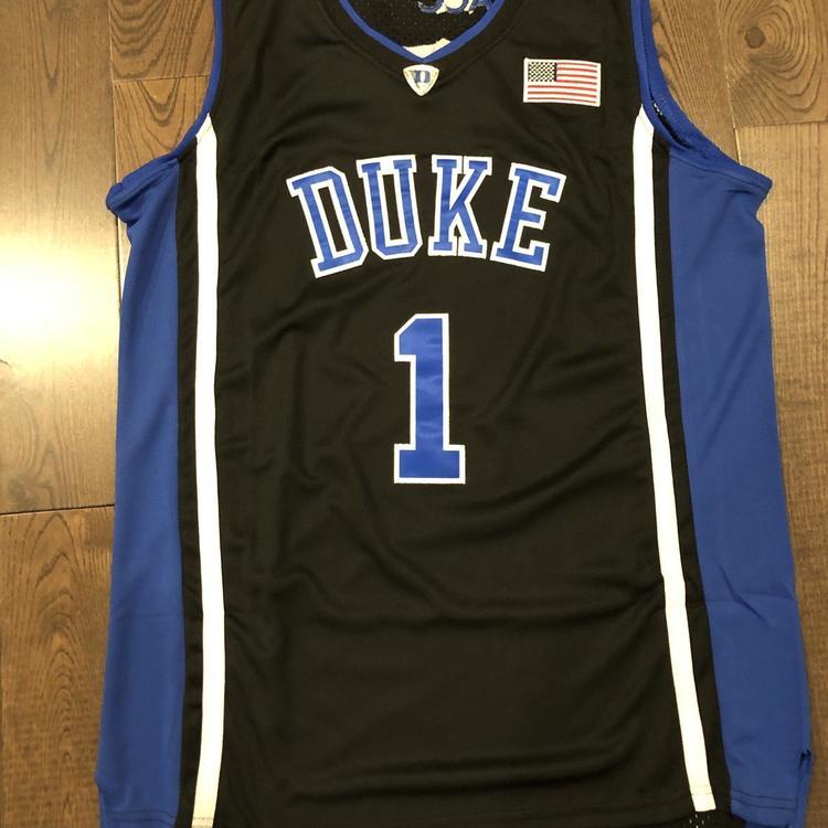 quality design 30b4f 6bd9a New Kyrie Irving #1 Duke Jersey