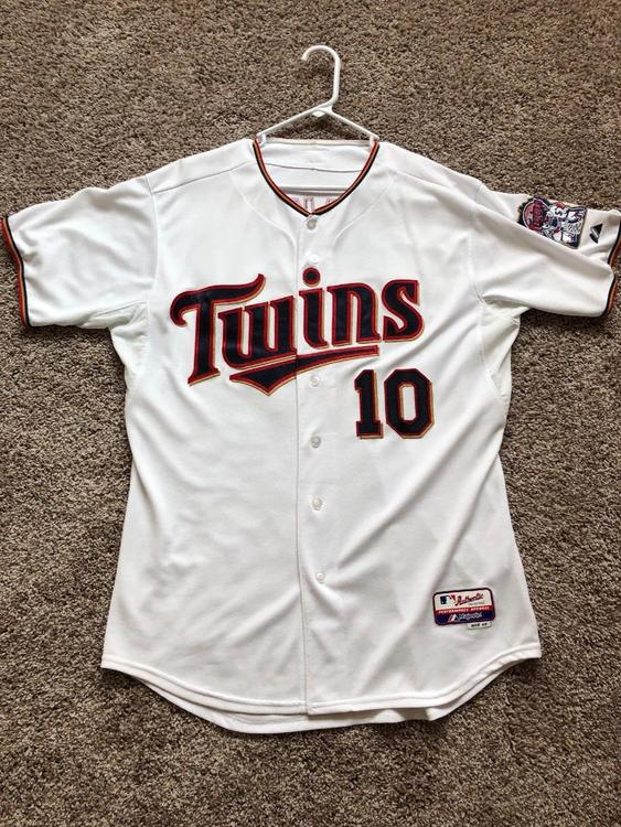 the latest 61afe 1f91b Authentic Minnesota Twins Tom Kelly Home Model Cool Base Authentic Jersey  sz 48 (XL)