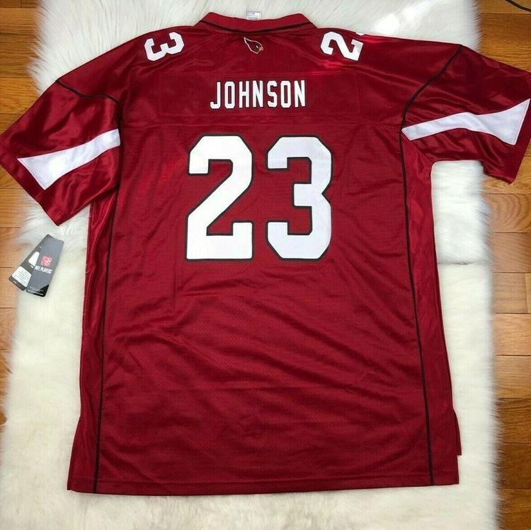 detailing ad662 76461 Chris Johnson Arizona Cardinals NFL Pro Line Big & Tall Football Jersey 2XLT