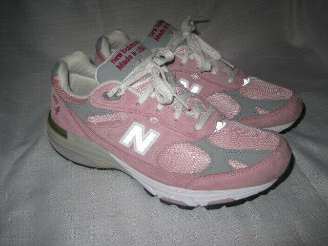 New Balance 998 Leather Running Shoes women's 9.5 pink walking Made in USA