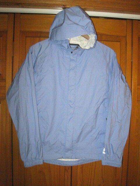 8175fe558 REI waterproof rain jacket girls L 14/16 blue camping fishing