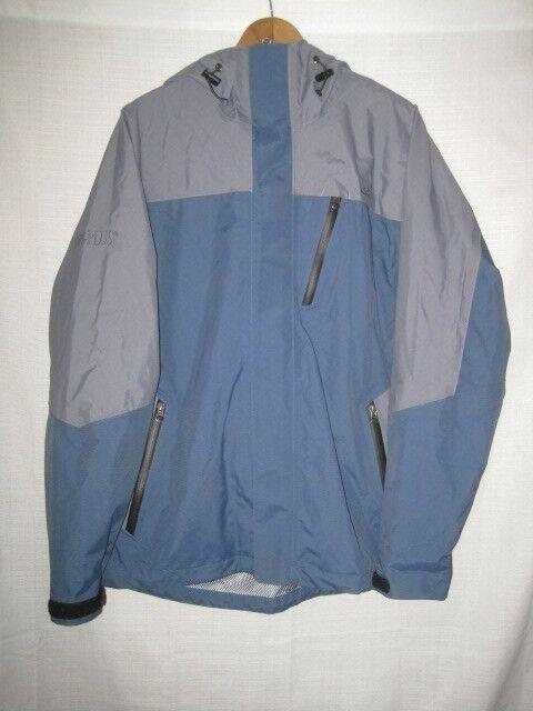 dc7497fbc56 Cabela's Dry Plus MXP Waterproof Rain Jacket men's M blue fishing 981375