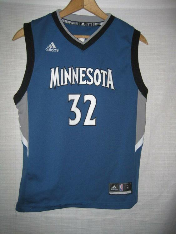 Adidas Minnesota Timberwolves Karl Anthony Town Jersey Kids Boys M