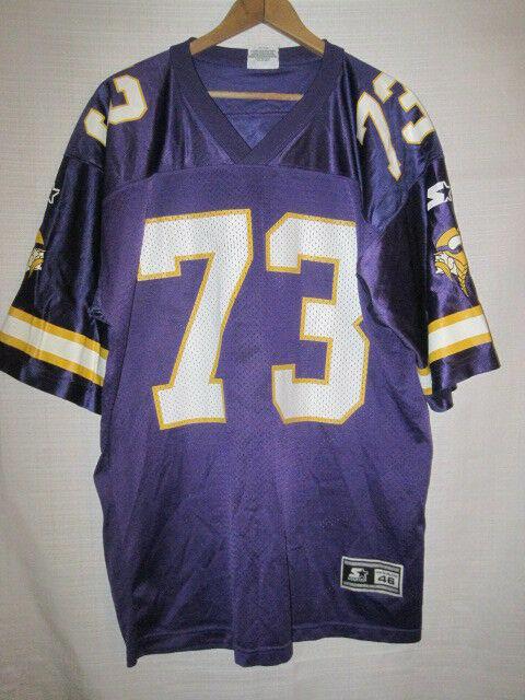on sale 3e5cd 47b92 Vintage Minnesota Vikings Todd Steussie football jersey 46 M NFL Starter