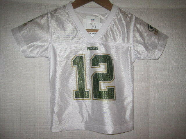 best loved c795f 0ca30 Green Bay Packers Aaron Rodgers Football Jersey boys baby 12 Months NWOT NEW
