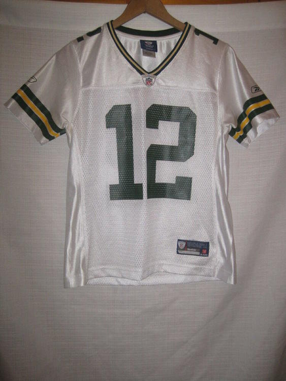 premium selection d0083 a392b Green Bay Packers Aaron Rodgers Reebok Football Jersey women's S white
