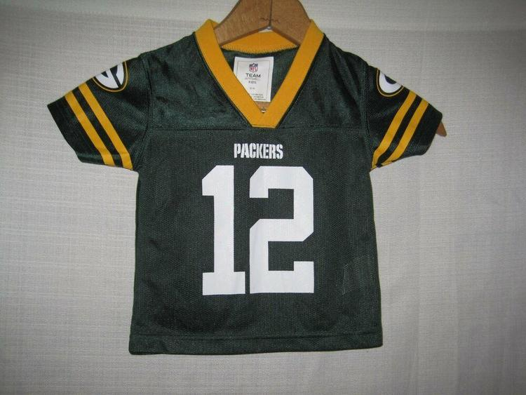 meet 68912 64962 Green Bay Packers Aaron Rodgers Football Jersey Boys Baby 12 Months