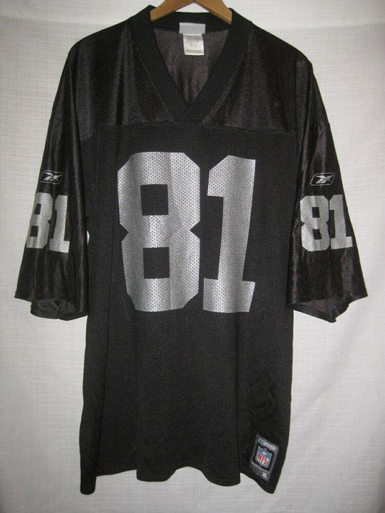 finest selection 8d662 39ed5 Vintage Oakland Raiders Tim Brown Reebok Football Jersey men's XL black LA