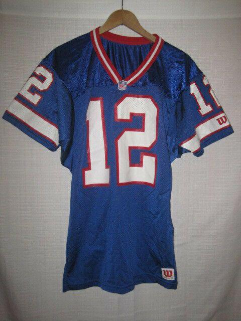 premium selection 53ce9 c9d50 Vintage Buffalo Bills Jim Kelly Wilson Football Jersey men's M blue