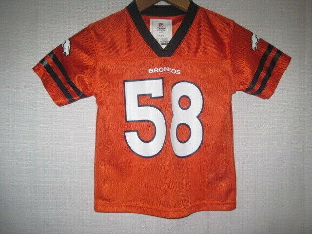 e2699248 Denver Broncos Von Miller Football Jersey kids boys Toddler 3T orange