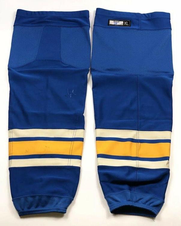 sports shoes 8ef17 d989a Pro Stock Pro Return XL Reebok Edge Hockey Socks St. Louis Blues Winter  Classic