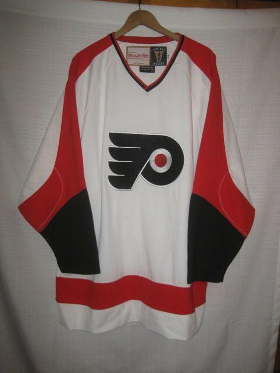on sale 1acf0 b989d Philadelphia Flyers Mitchell & Ness 1973-74 Hockey Jersey men's 52 white NHL