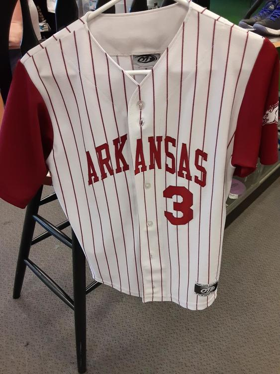 new product 5d409 004fd Arkansas Baseball Jersey Youth Large- 134912