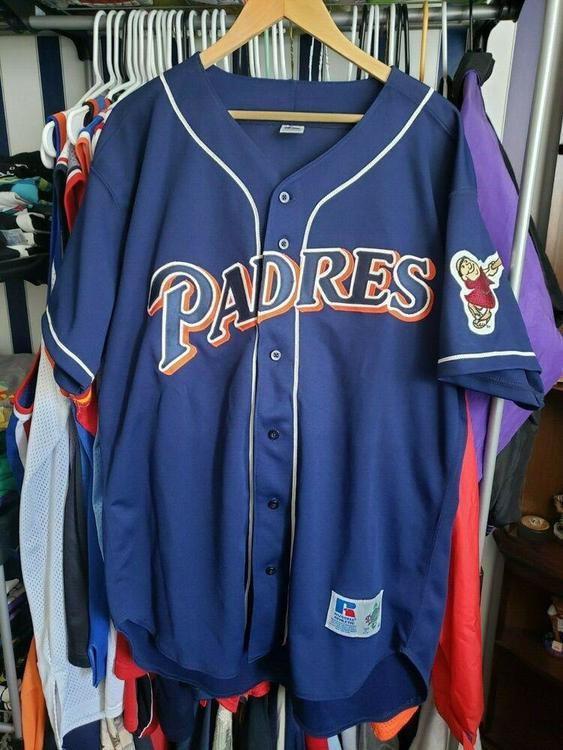 reputable site a7a90 5209f VTG San Diego Padres Authentic Jersey Sz. 48 90s Diamond Collection Rare