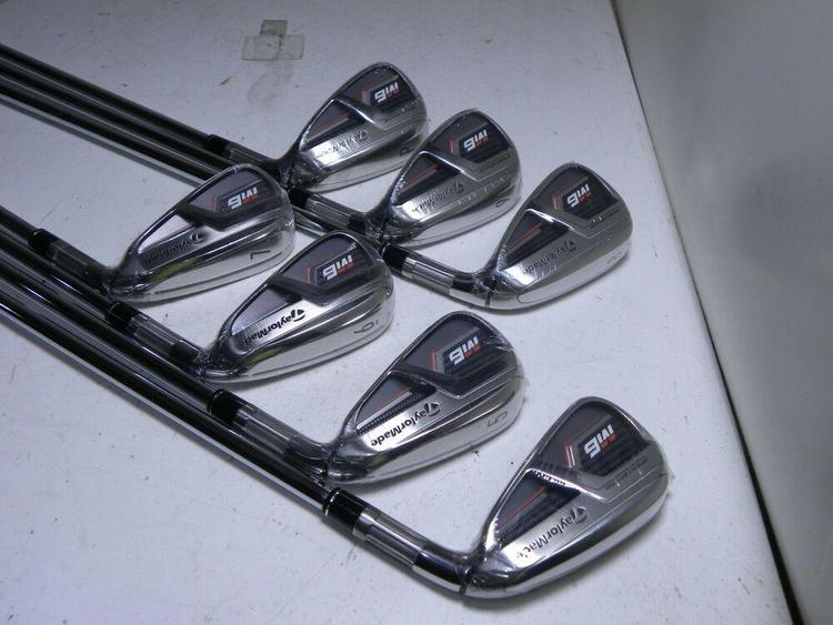 TaylorMade M6 Iron Set 4-PW RH Steel KBS Max 85 Regular Flex BRAND NEW