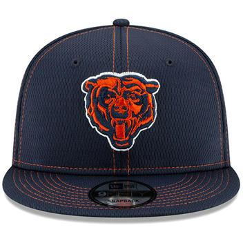 6d0dcebae New Era 2019 Chicago Bears C 9FIFTY NFL Road Sideline Snapback Hat ...