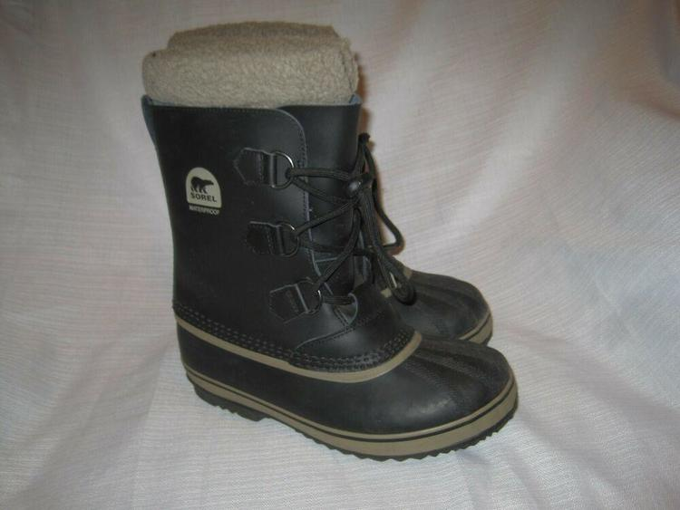32453a47ba3 Sorel Yoot Pac Waterproof Insulated Snow Boots Youth 6 black winter  NY1880-013